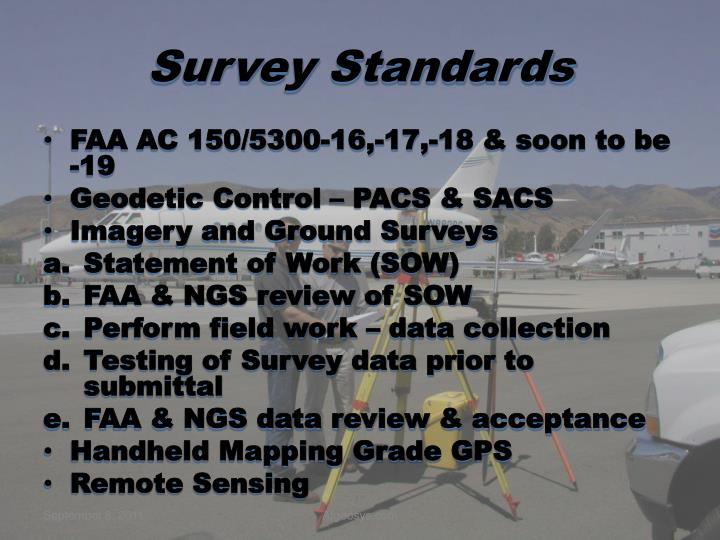 Survey Standards