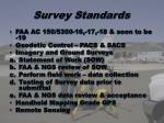 survey standards