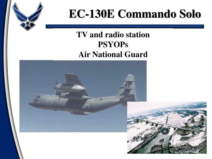 EC-130E Commando Solo