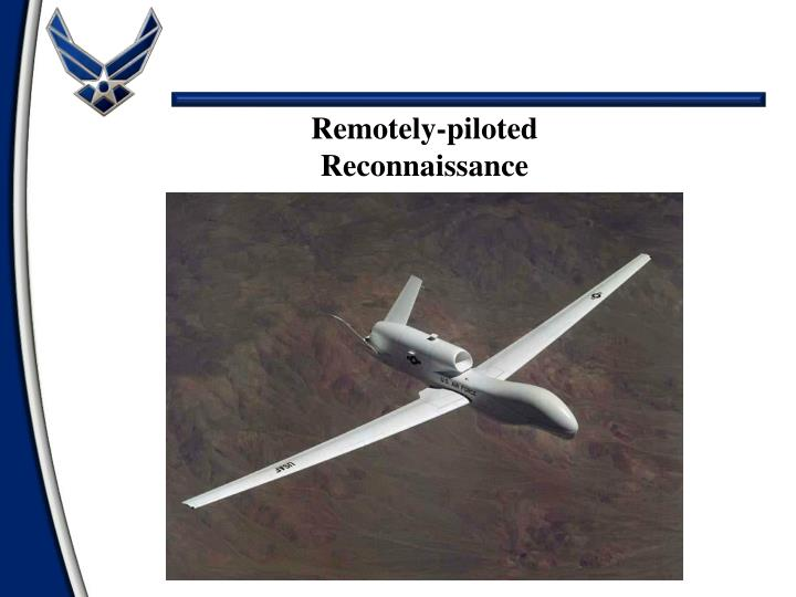 Remotely-piloted