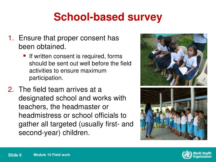 School-based survey