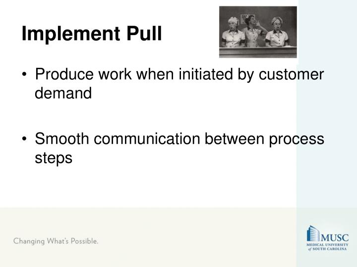 Implement Pull