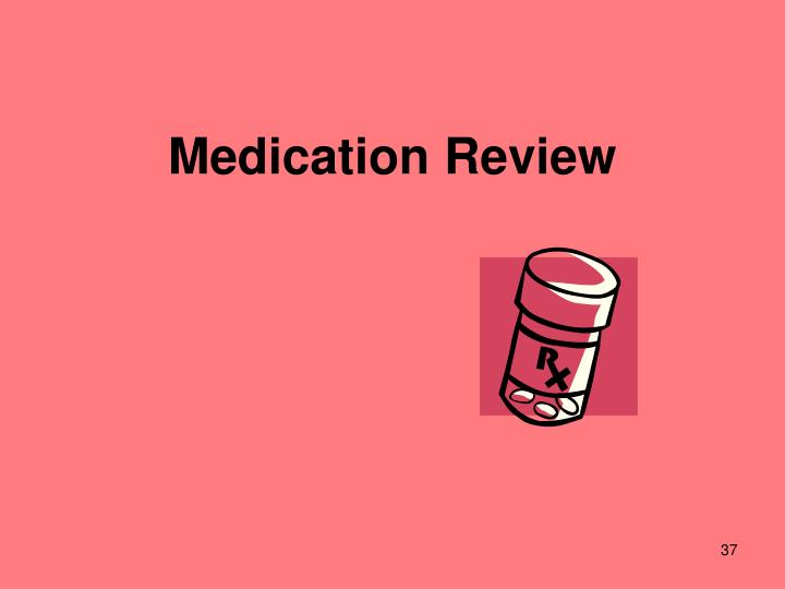 Medication Review