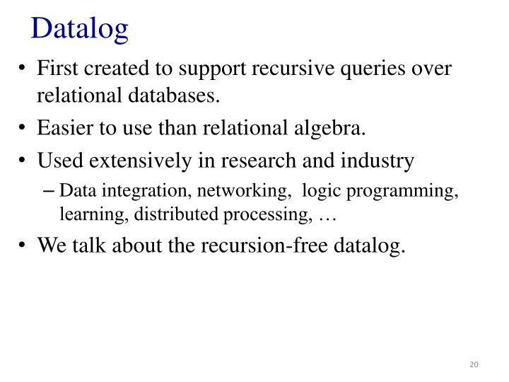 Datalog