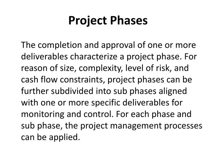 Project Phases
