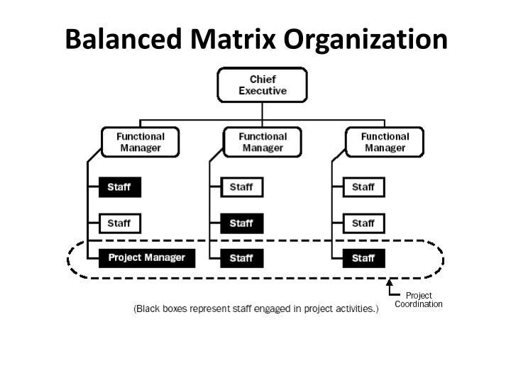 Balanced Matrix Organization