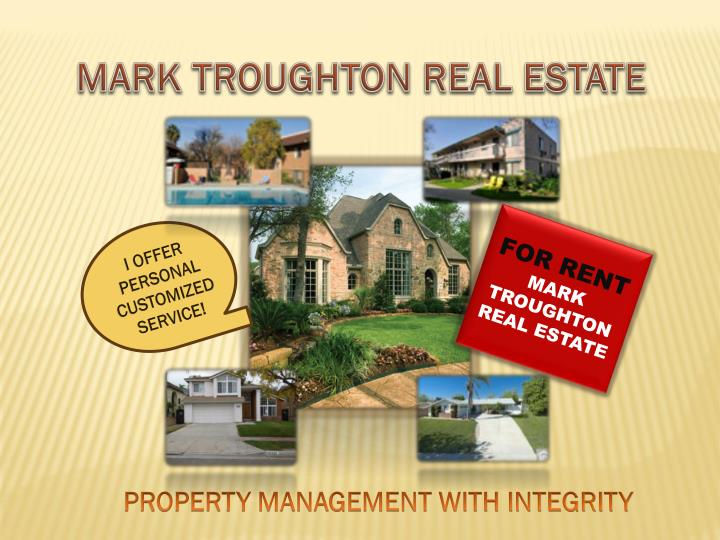 M ark troughton real estate