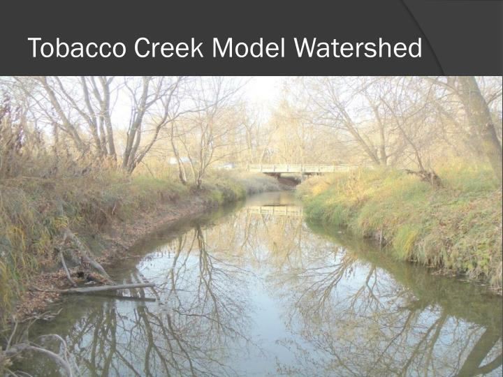 Tobacco Creek Model Watershed