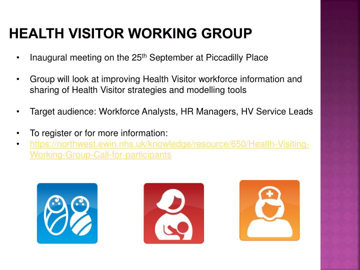 HEALTH VISITOR WORKING GROUP