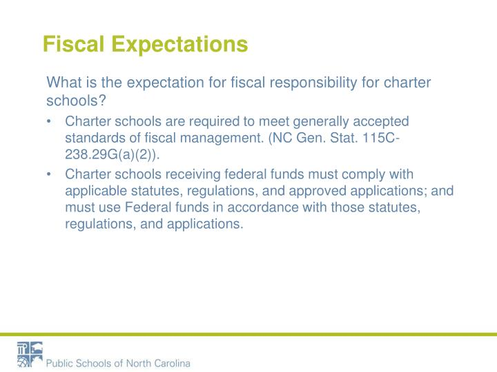 Fiscal Expectations