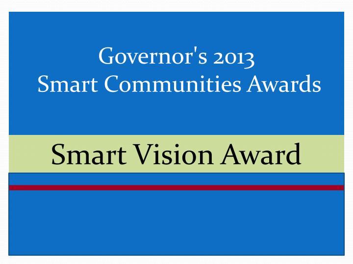Smart Vision Award