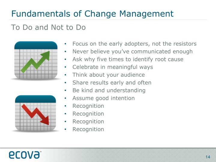 Fundamentals of Change Management