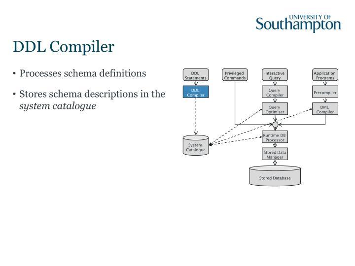DDL Compiler