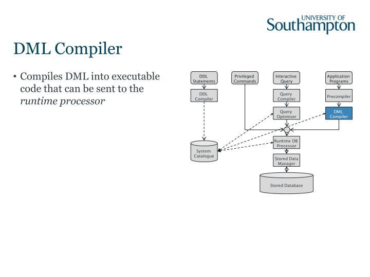 DML Compiler