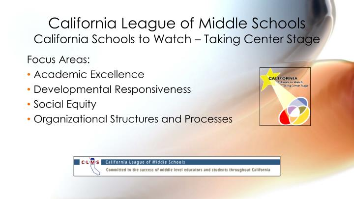 California League of Middle Schools