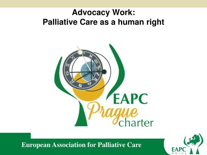 Advocacy Work: