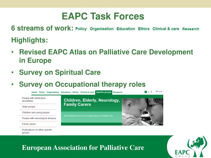 EAPC Task Forces