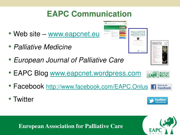 EAPC Communication