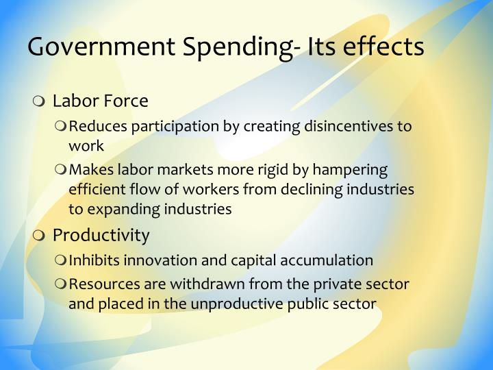 Government Spending- Its effects