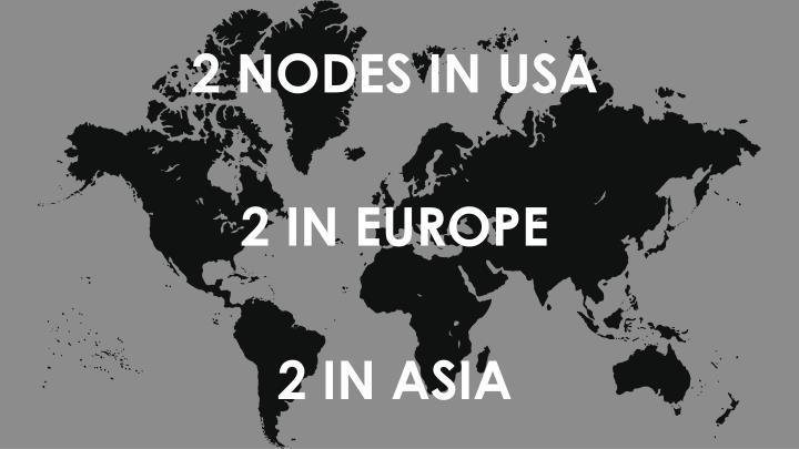 2 NODES IN USA