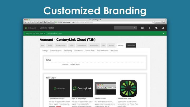 Customized Branding
