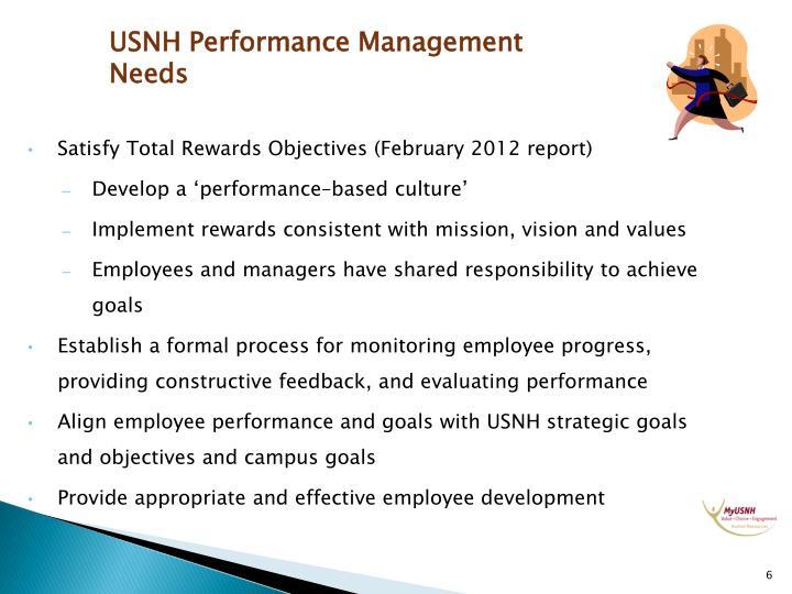 USNH Performance Management