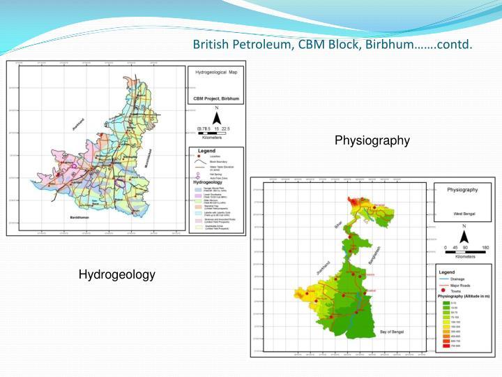 British Petroleum, CBM Block,