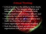 critical thinking1