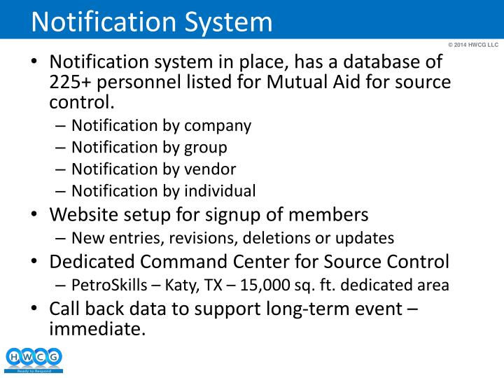 Notification System