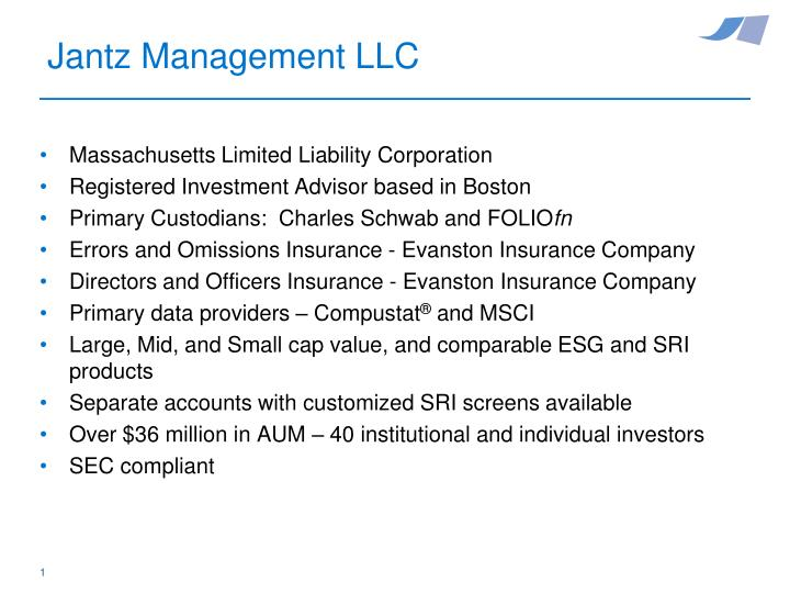 Massachusetts Limited Liability Corporation
