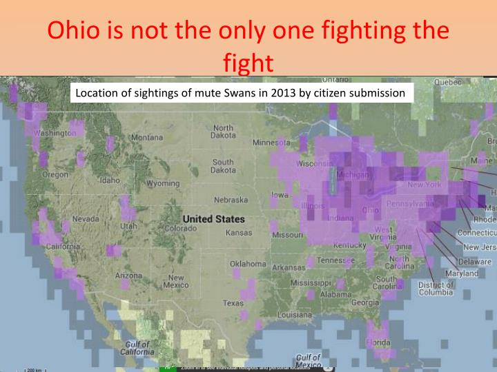 Ohio is not the only one fighting the fight