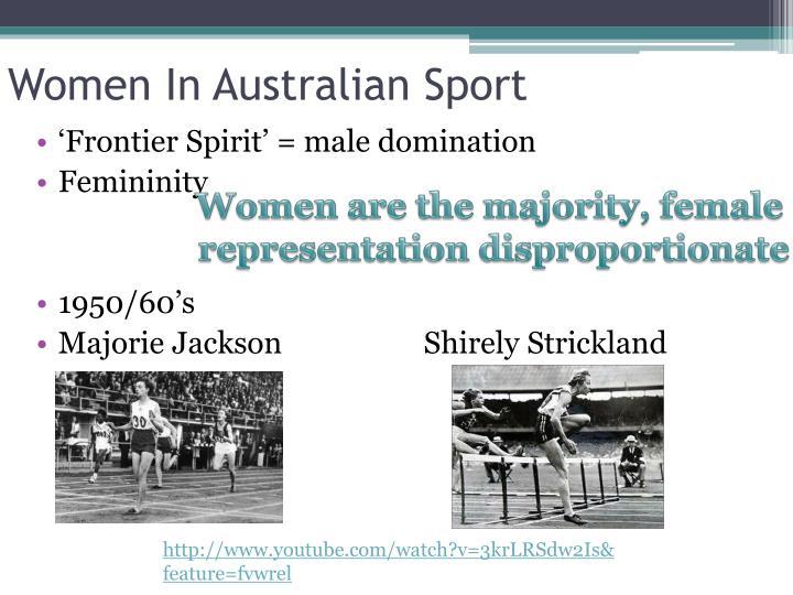 Women In Australian Sport