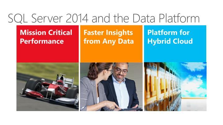 SQL Server 2014 and the Data Platform