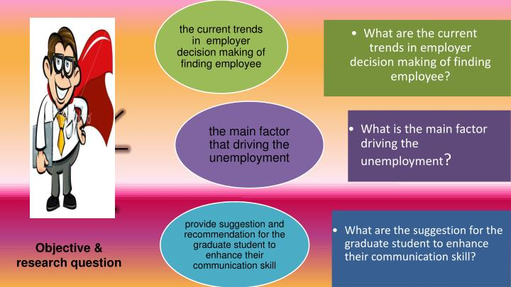 What are the current trends in employer decision making of finding employee?