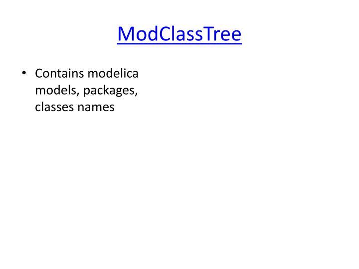 ModClassTree
