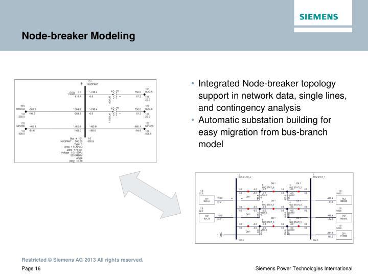 Node-breaker Modeling