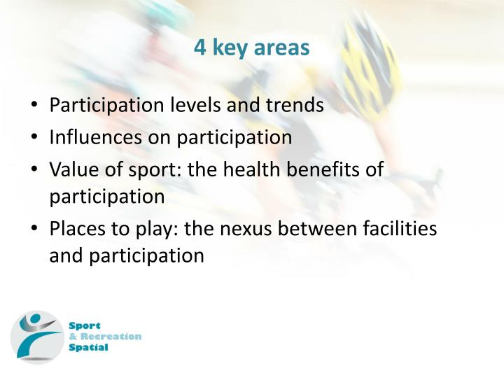 4 key areas