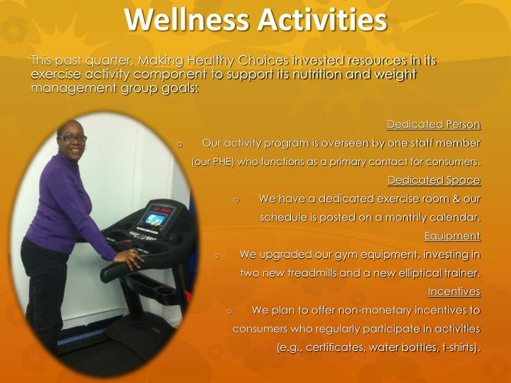 Wellness Activities