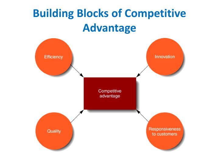 Building Blocks of Competitive Advantage