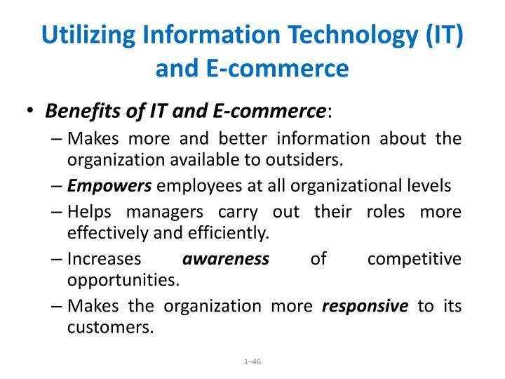 Utilizing Information Technology (IT)