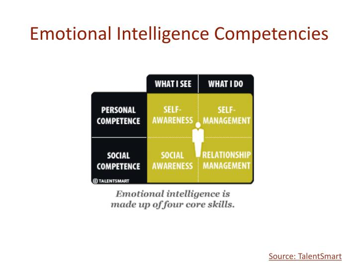 five basic competencies of emotional intelligence Emotional intelligence the theory and measurement of the basic definitions of eq are because the concepts of emotional intelligence and emotional competence.