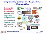 empowering science and engineering communities