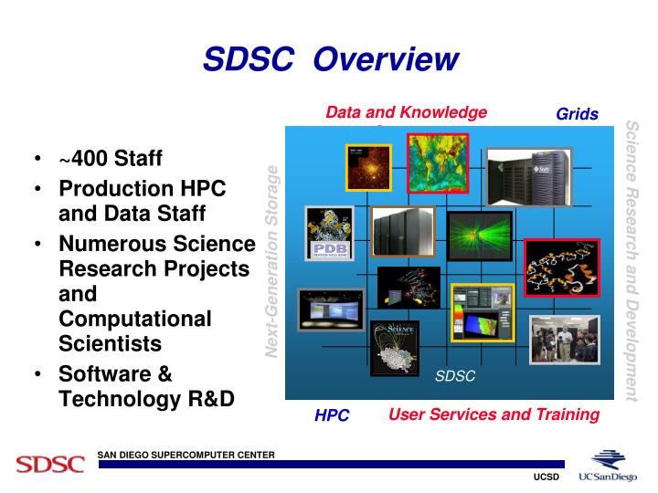 Sdsc overview