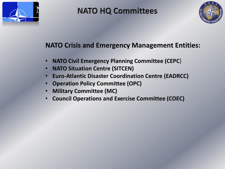 NATO HQ Committees