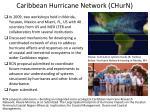 caribbean hurricane network churn