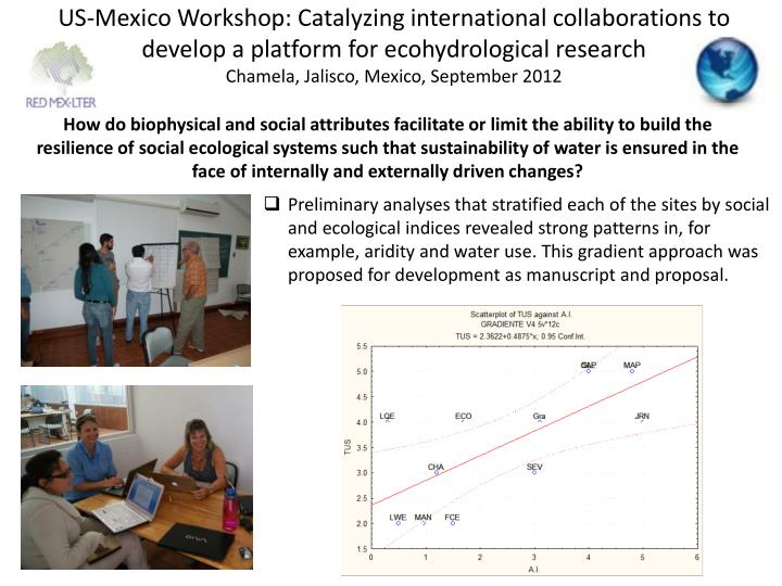 US-Mexico Workshop: