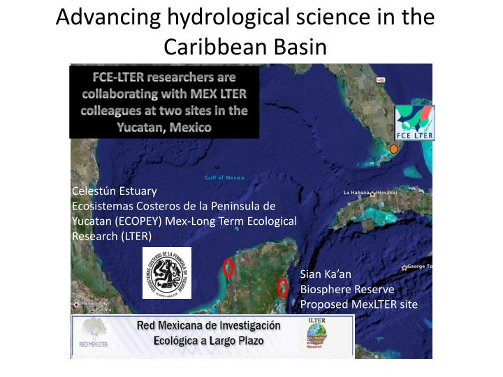 Advancing hydrological science in the Caribbean Basin