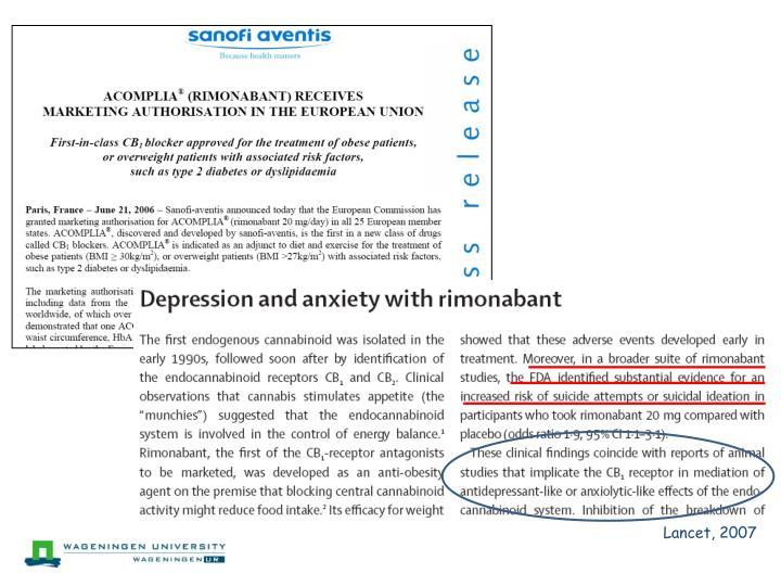 Lancet, 2007