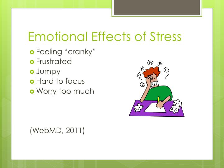 Emotional Effects of Stress