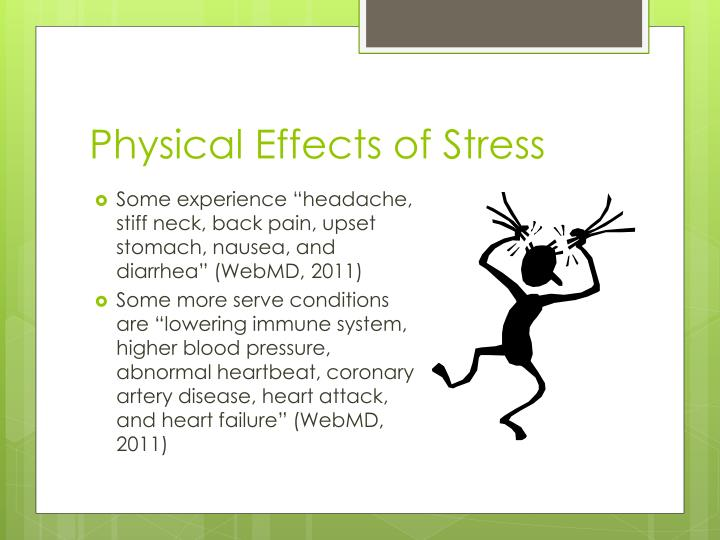 Physical effects of stress